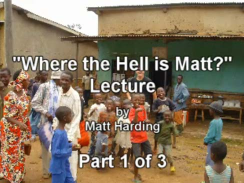 College Lecture (Part 1 of 3)
