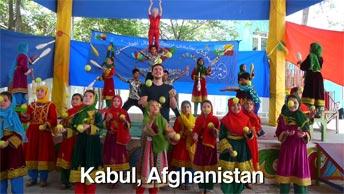 Dancing in Kabul, Afghanistan