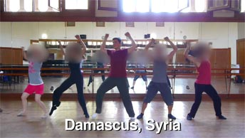 Dancing in Damascus, Syria