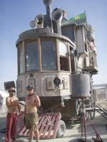 Steam punk train